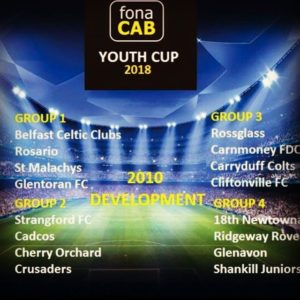 Rossglass 2010s invited to the Cliftonville Youth Cup
