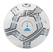 Rossglass County FC Shop: Infinity Training Ball with Crest
